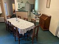 Jídelna + kuchyň přízemí - Sobotín - Petrov nad Desnou