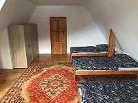 Velký pokoj pětilůžkový 1.patro