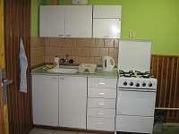 Apartman č. 1 - kuchyň - k pronajmutí Hostice