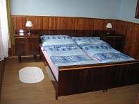 Apartman č. 1 - ložnice - k pronájmu Hostice