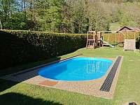 Bazén s dětským hřištěm - Bělá pod Pradědem