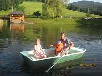 Roubenka u rybníka s rybolovem - srub k pronajmutí - 30 Sobotín
