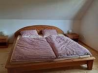 Ložnice v podkroví pro 2 osoby - Zlaty Potok