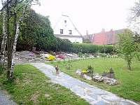 chalupa u Renaty - zahrada