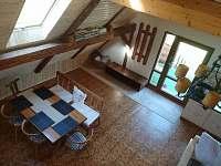 hlavní místnost - jídelna - apartmán k pronajmutí Rudná pod Pradědem
