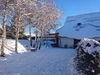 zimní foto - pronájem apartmánu Rudná pod Pradědem