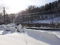 zima - pronájem chaty Stará ves u Rýmařova