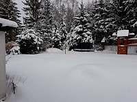 zima - Stará ves u Rýmařova