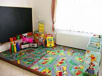 Společenská místnost - dětský koutek - Velké Losiny