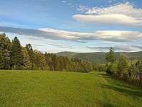 je zde opravdu krásně ,pohled z procházky 30 min od chalupy - Domašov