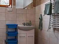 nová koupelna s elektrickým sušákem - Domašov