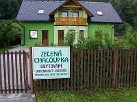Zelená chaloupka - chalupa ubytování Bělá pod Pradědem - 9