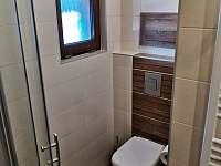 Koupelna - chata k pronájmu Zlaté Hory