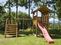 Dětský koutek - chalupa ubytování Nové Losiny