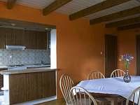 Společenská místnost - chalupa ubytování Nové Losiny