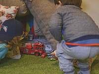 Dětská herna - pronájem chaty Vernířovice