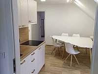 AP1 jídelní kout - apartmán k pronajmutí Malá Morávka