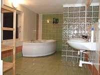 Chalupa Rozárka - koupelna - pronájem Zlaté Hory