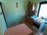 kuchyň - pronájem apartmánu Domašov