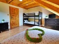 4-lůžkový pokoj - srub k pronajmutí Velké Losiny