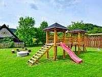 Dětské hriště - srub k pronajmutí Velké Losiny