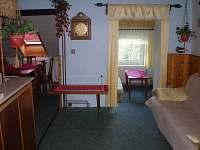 Obývací místnost s jídelnou