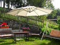 Zahrada - chalupa ubytování Skorošice