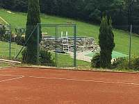Horska Chata Pekarov_ Pool and Tennis Court -