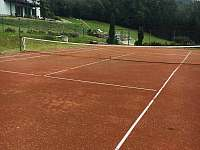 Horska Chata Pekarov_ Tennis Court -
