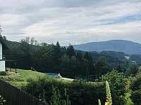 Horska Chata Pekarov_ Vyhled z cesty u domu -