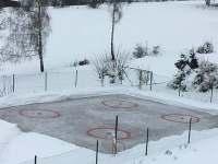 Malý hokej - chata ubytování Pekařov