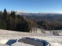 Pekařov v zimě - chata ubytování Pekařov