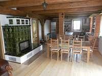 kuchyň a jídelna - Vysoká u Malé Moravy