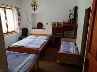 pokoj č.2 (3 lůžka + 1 lůžko pro dítě) - chalupa k pronájmu Nové Losiny