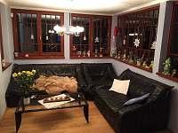 Společenská místnost s LCD televizí a satelitem