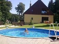 Bazén a pohled z boku