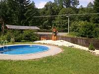 bazén,zahrada