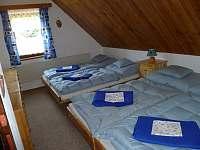 """""""modrá"""" ložnice"""