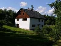 Chata k pronajmutí - okolí Horní Orlice