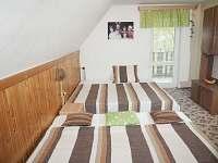 Druhý pokoj - chata ubytování Podlesí