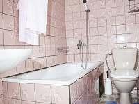 Koupelna - chata k pronajmutí Podlesí
