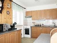 Kuchyň - pronájem chaty Podlesí