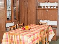 Kuchyň - chata k pronájmu Podlesí