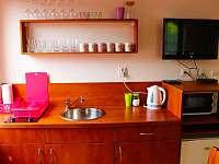 Apartmán č.1- kuchyňka - chata k pronájmu Dolní Moravice