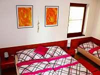 apartmán č.1-ložnice - chata ubytování Dolní Moravice