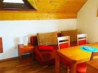 apartmán č.2-obývák - pronájem chaty Dolní Moravice