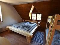 2. ložnice - chalupa k pronajmutí Branná