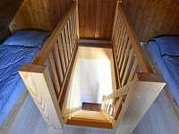 3. ložnice - chalupa ubytování Branná