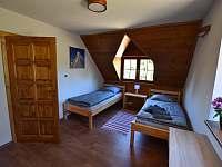 3. ložnice - pronájem chalupy Branná