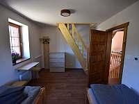 3. ložnice - chalupa k pronajmutí Branná
